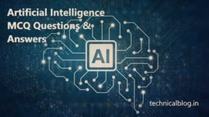 artificial intelligence mcq questions