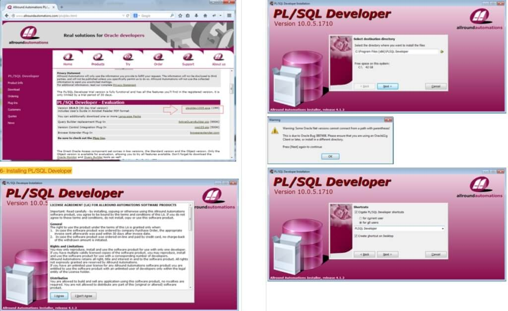 pl sql developer installation