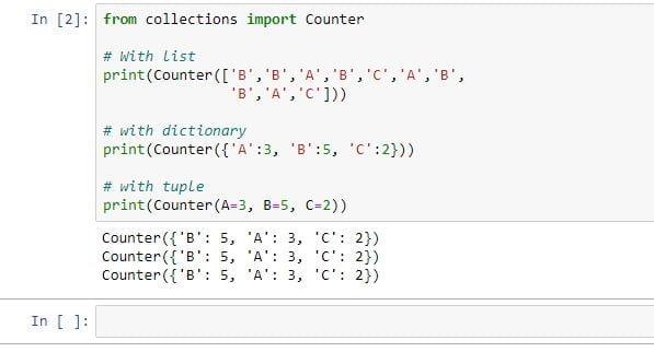 python collection module